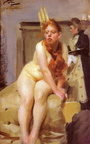 Anders Zorn nue rousse