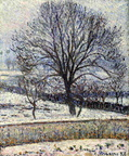 Camille Pissaro 1893 The Thaw, Éragny