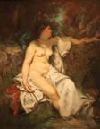 Gustave-Courbet-Bather-Sleeping-by-a-Brook-1845