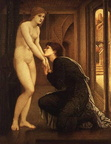 The soul Attains Pygmalion (Burne-Jones) 02